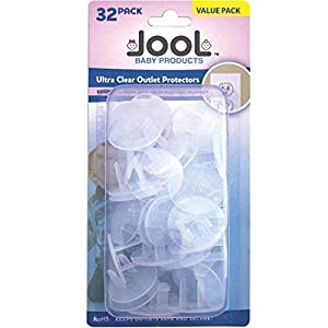 Outlet Plug Covers (32 Pack) Clear Child Proof Electrical...