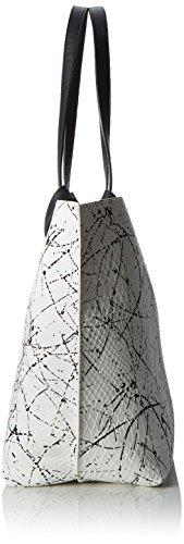 Tamaris Noelia Shopping Bag - Shopper Mujer Mehrfarbig (white Comb)