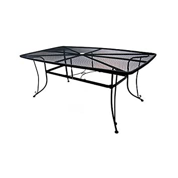 woodard cm llc 1172-bxu Uptown Collection , 42 x 72 , Standard Mesh Dining Table