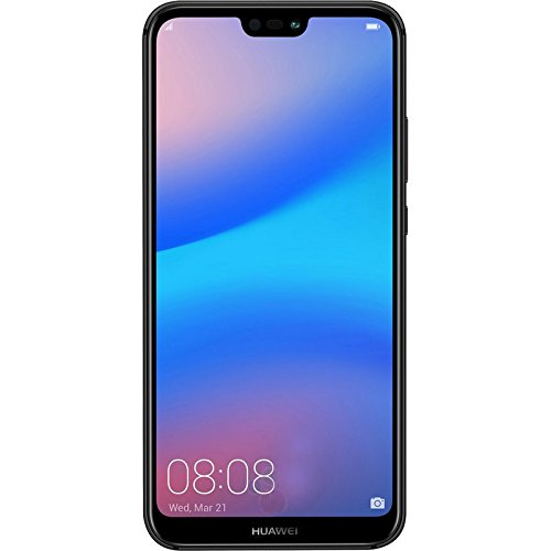 "Huawei P20 Lite ANE-LX3 32GB + 4GB, 5.84"" Dual SIM LTE Factory Unlocked Smartphone - International Model - No Warranty (Midnight Black)"