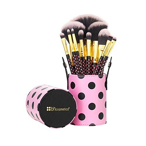 BH Cosmetics Pink-a-Dot Brush Set 41YWIMiyDKL