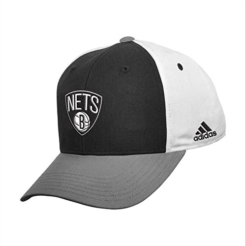 fan products of NBA Brooklyn Nets Youth Boys 8-20 Structured Adjustable Cap, Black, 1 Size