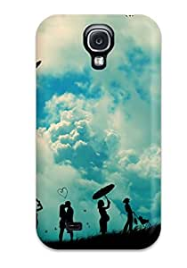 Anti-scratch And Shatterproof Humor Cartoon Phone Case For Galaxy S4/ High Quality Tpu Case