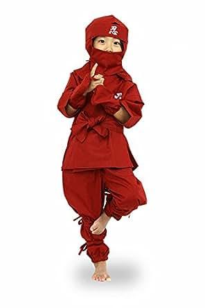 Amazon.com: Edoten Ninja Costume 6 Items Japanese Cosplay ...
