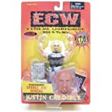 ECW Toymakers Action Figure Justin Credible [Black Shirt]