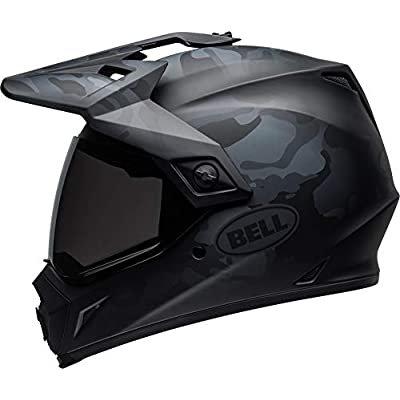 Bell MX-9 Adventure MIPS Full-Face Motorcycle Helmet (Stealth Matte Black Camo, X-Large): Automotive
