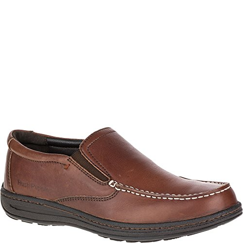Hush Puppies Vicar Victory, Mocasines para Hombre Dark Brown