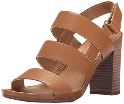 Franco Sarto Women's L-JENA Sandal, Sienna, 10 Medium US