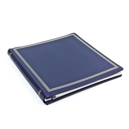 Photo Album Refills Magnetic (Large Magnetic Page X-Pando Photo Album, Navy Blue)