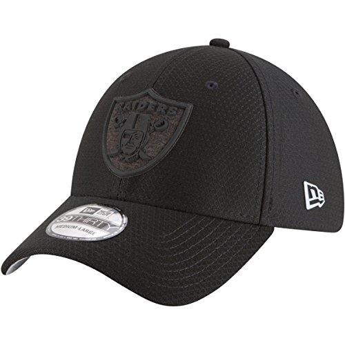 New Era Authentic Raiders Team Color 2018 Training Camp 39THIRTY Flex Hat (M/L) (New Stretch Era)