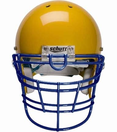 Schutt Navy Reinforced Jaw and Oral Protection (RJOP-XL-UB-DW) Full Cage Football Helmet Face Guard from