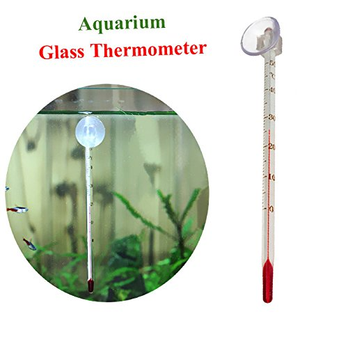 Bazaar Aquarium Fish Tank Glass Thermometer Temperature M...