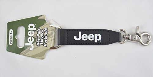 Jeep Leather Strap Key Chain Cars Trucks 5 1/2 Long New K...