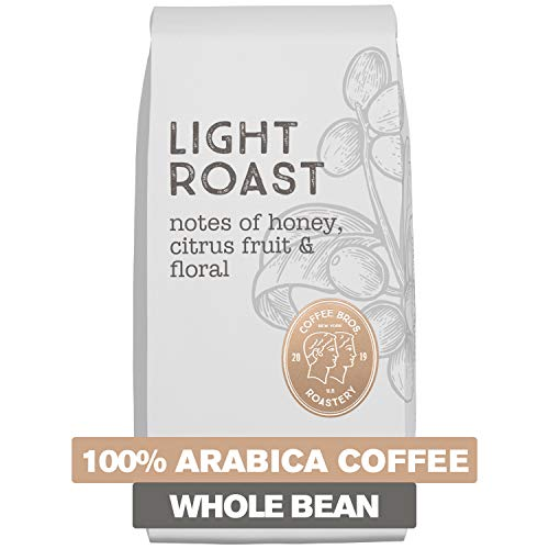 - Coffee Bros., Light Roast Coffee, Whole Bean, Crisp & Bright, 100% Arabica Coffee Beans, 12oz