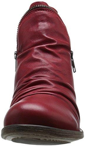 Miz Mooz Boot Women's Red Ankle Luna xqPw410qA