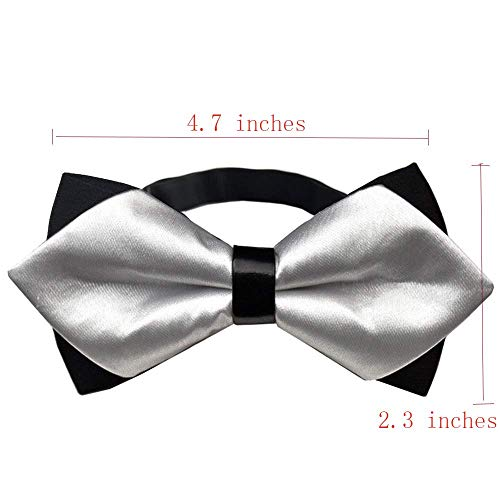 Music Festival Rave Party Butterfly Bow Tie Casual and Formal Pre Tied Bow Tie
