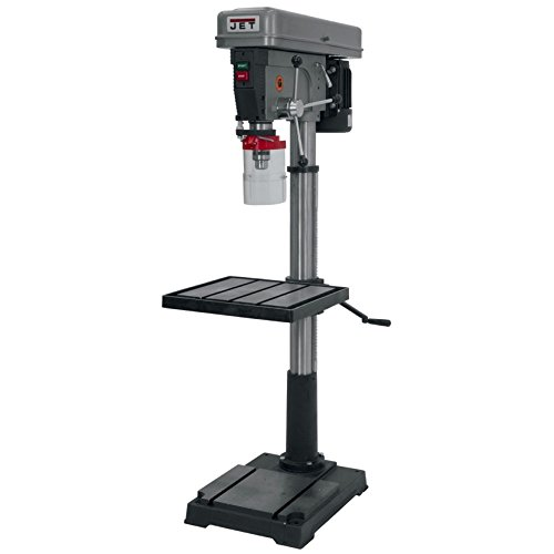 JET J-2550 20-Inch 1-Horsepower 115-Volt Single Phase Floor Model Drill Press by Jet