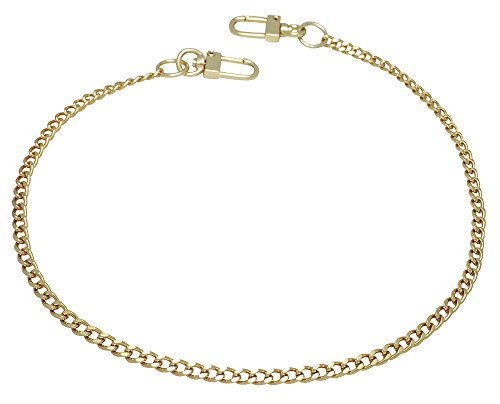 k-craft BG01 125cm Purse Metal Chain Strap Replacement Gold Crossbody Shoulder Strap Handbag