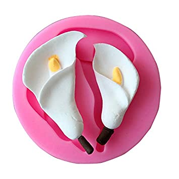iuytgsdhb Moldes de Silicona para repostería, moldes para decoración de Pasteles, Color Rosa: Amazon.es: Hogar