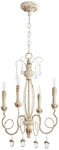Quorum International 6044-4-70 Quorumfour Light Chandelier, 12