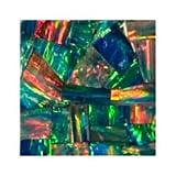 Susan Jablon Mosaics - 1x1 Inch Opal Fire Gem Stone Tile