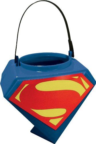 Rubies Superman Man of Steel Shield Logo Trick-or-Treat Pail