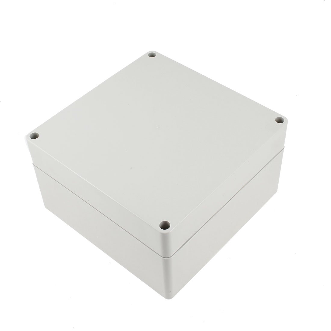 uxcell 6.3'' x 6.3'' x 3.54''(160mm x 160mm x 90mm) ABS Junction Box Universal Project Enclosure