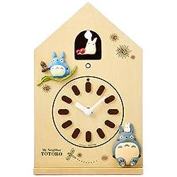 My Neighbor Totoro Wall Clock Wooden Frame