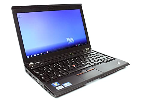 (Renewed) Lenovo Thinkpad Hybrid Laptop X230 Intel Core i5 – 3320m Processor, 4 GB Ram & 256 GB SSD & 320GB HDD, Win10, 12.5 Inches 1.34 KG Ultralight Computer