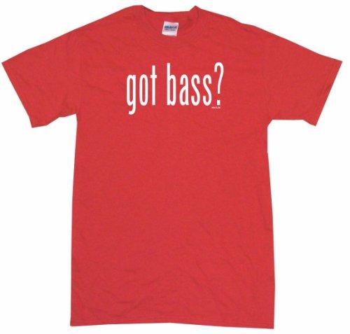 Got Bass Men's Tee Shirt Medium-Red