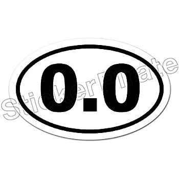 Amazon Com Oval Euro Car Magnet 0 0 Marathon Runner Don T Run