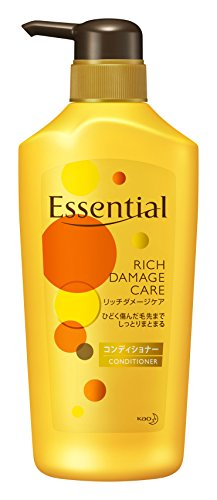 - KAO Essential Pump Conditioner, Rich Damage Care
