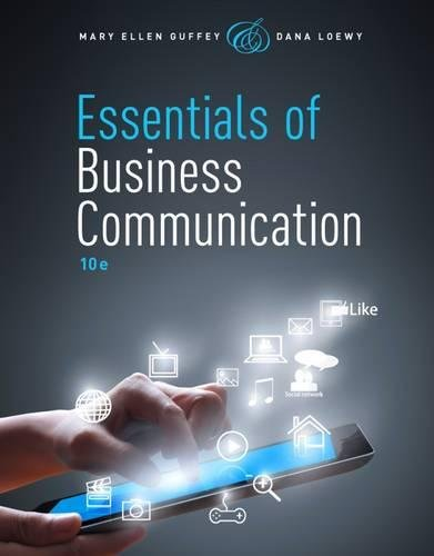 Essentials of Business Communication (with Premium Website, 1 term (6 months) Printed Access Card) PDF