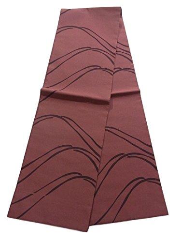 ビジョンたるみエクステントリサイクル 全通 袋帯 遠山のシルエット 正絹