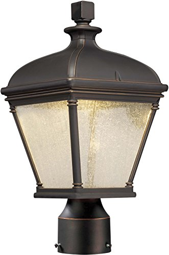 Heritage Manor - Minka Lavery Outdoor Post Lights 72396-143C Lauriston Manor Aluminum Outdoor Post Lighting LED, Bronze