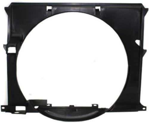 CPP Single Radiator Fan Shroud for BMW 3 Series, M3, Z3 BM3110101 - Bmw Fan Shroud