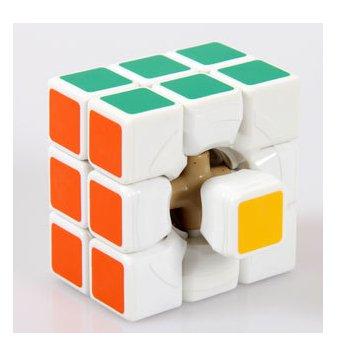 3*3 white jiguang cube