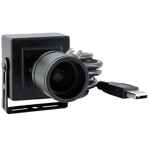 ELP 2.8-12mm Lens Varifocal Mini Box USB Camera 1.3megapixel for Linux Android Windows System