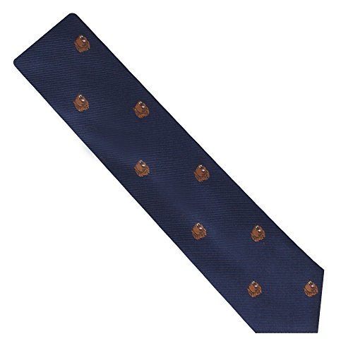 Bear Tie | Bear Market Wall Street Ties | Banker Gift for Men | Work Ties for Him | Birthday Gift for Guys (Brown Bear) by AUSCUFFLINKS (Image #1)