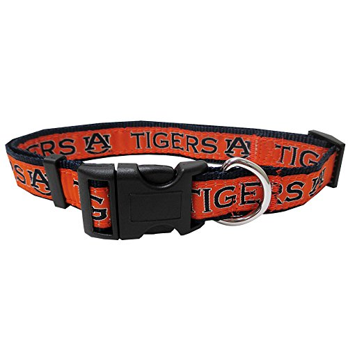 Auburn University Nylon Adjustable Dog Collar (Small)