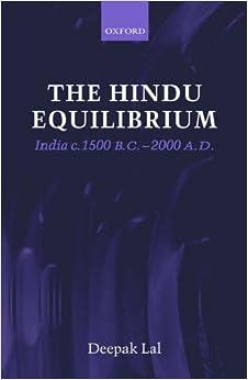 Book The Hindu Equilibrium: India C. 1500 B.C.-2000 A.D.: India C.1500-2000