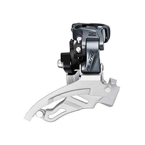 SHIMANO Alivio Side Swing 9-Speed Mountain Bicycle Front Derailleur - FD-M4000-M - EFDM4000MX6 ()