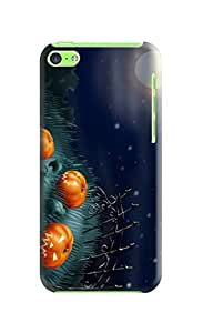 Design Your New Style Halloween fashionable TPU Phone Protection Cover case to Make Your iphone 5c Outstanding