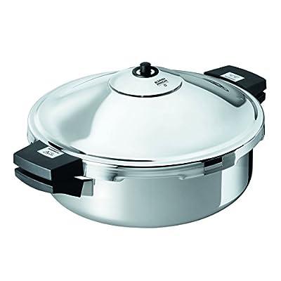 Kuhn Rikon Duromatic Family Style Pressure Cooker Braiser 5.3 Quart