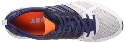 adidas Adizero Tempo 9 M, Scarpe da Trail Running Uomo Bianco (Ftwbla/Indnob/Negbas 000)