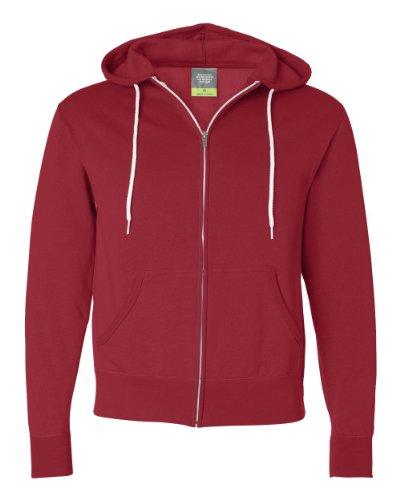 Independent Trading Co Unisex Sweatshirt AFX90UNZ - X-Small - Red