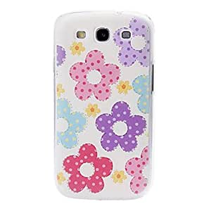 AES - Small Fresh Florals Plastic Case for Samsung Galaxy S3/I9300