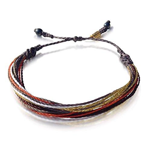 Surfer Beach String Bracelet w Hematite Stones | RUMI SUMAQ
