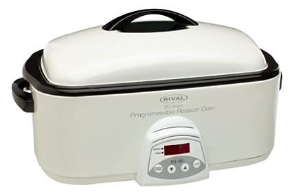 amazon com rival ro200 w 20 quart programmable roaster oven rh buybox amazon com rival roaster oven manual pdf rival roaster oven user manual