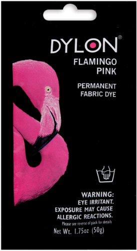 DYLON® Hand Dye 50g - Full Range of Colours Available! (Flamingo - Fabric Dye Pink
